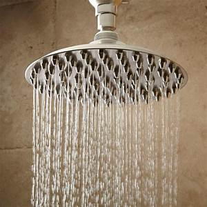 Bostonian Rainfall Nozzle Shower Head With S