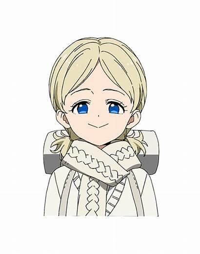 Neverland Promised Season Character Yakusoku 2nd Anna