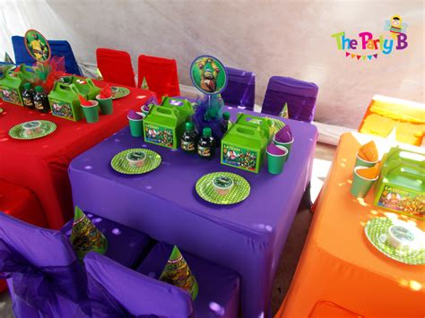 ninja turtles themed party cape town the party b kids