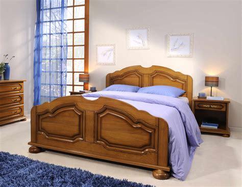 chambre à coucher adulte pas cher chambre chene massif