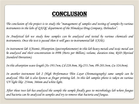 Write project conclusion. How to Write a Conclusion: A ...
