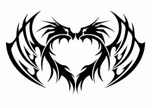 Dragon Heart Tribal by kuroakai on DeviantArt
