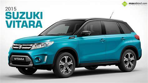 2015 Suzuki Vitara Front 3-quarter