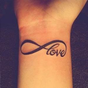 Love Tattoo on Wrist
