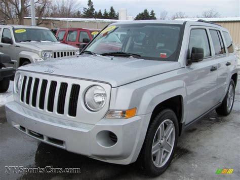 silver jeep patriot 2007 2008 jeep patriot sport 4x4 in bright silver metallic