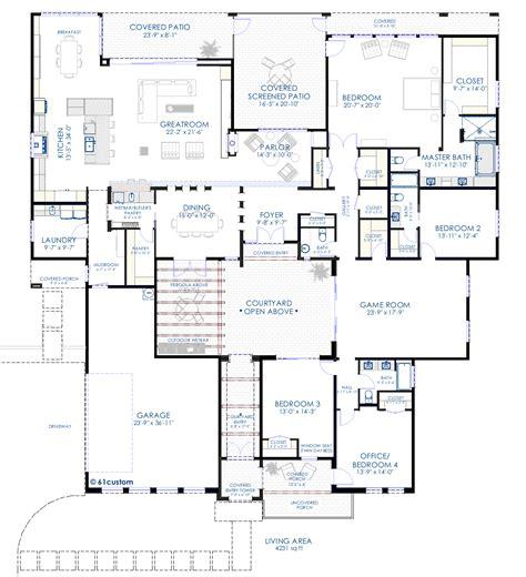 contemporary house plans smalltowndjs com house plans with courtyards 8 contemporary house