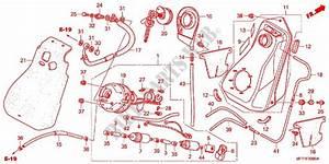 Fuel Tank For Honda Silver Wing 400 Gt 2011   Honda