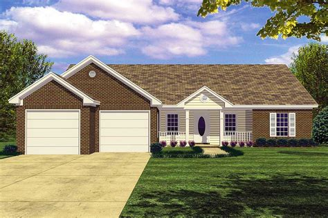 Efficient Ranch Home Plan