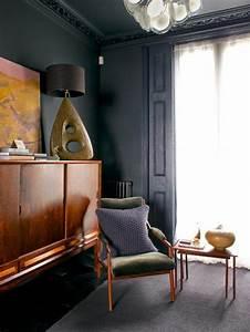 le gris anthracite en 45 photos d39interieur With couleur gris anthracite peinture 7 comment choisir la couleur de ma terrasse
