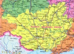 Guangxi China Maps Provinces