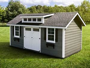 great 18 prefab sheds for your garden allstateloghomescom With custom built sheds near me