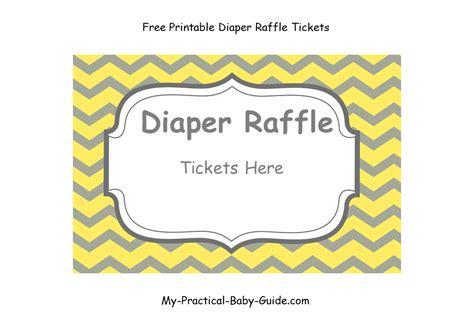 printable diaper raffle   practical baby
