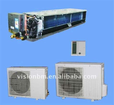 dx fan coil unit duct air conditioner dx hydraulic system china