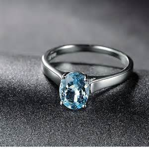 oval aquamarine engagement rings shop aquamarine solitaire engagement ring on wanelo