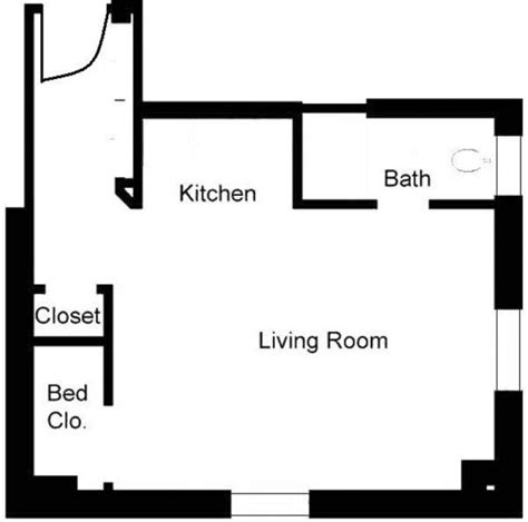 simple bedroom apartment floor plans placement planning studio apartment floor plans ideas 4 homes