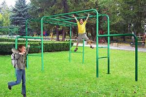 Mango Monkey Bars Playground Equipment from Cubbykraft
