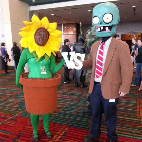 Plants Vs Zombies Video Game Cosplay Cosplay