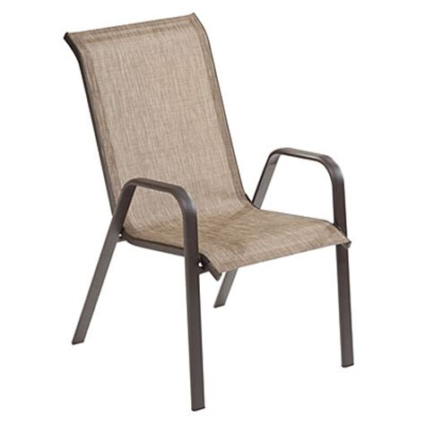 view wilson fisher 174 brown monterra stack chair deals at