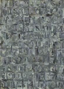 Grey numbers by Jasper Johns on artnet