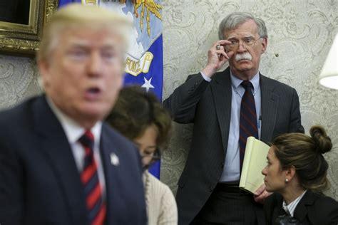 John Bolton: Trump administration's effort to block book ...