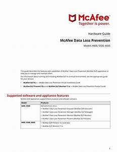 Data Loss Prevention 4400  5500  6600 Hardware Guide