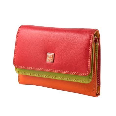 colorful wallets dudubags wallet colorful fiji genuine leather