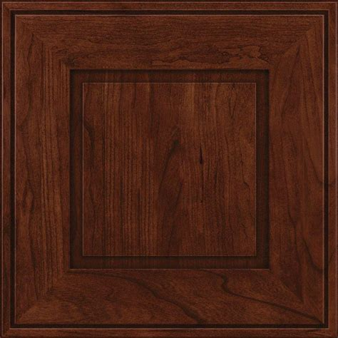 kraftmaid kitchen cabinet doors kraftmaid 15x15 in cabinet door sle in grange cherry 6713