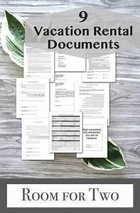 Room Rental Agreement Texas Ultimate Vacation Rental Welcome Book Template Rental