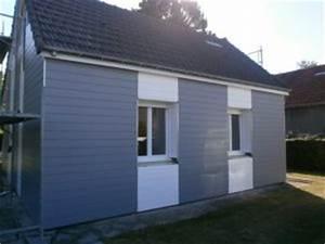 Isolation Extérieure Bardage : isolation par l exterieur bardage couleur bleu l 39 artisan ~ Premium-room.com Idées de Décoration