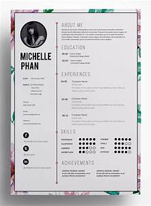 This super chic clean professional and modern resume for Design resume online