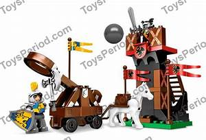 Lego 4863 Sentry And Catapult Set Parts Inventory And