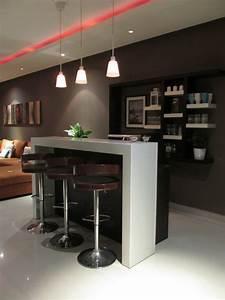 30 Stylish Contemporary Home Bar Design Ideas - Interior Vogue