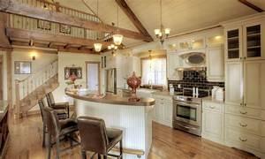 salon champetre recherche google cuisine pinterest With plan maison avec cote 2 maison neuve plain pied modale paysanne