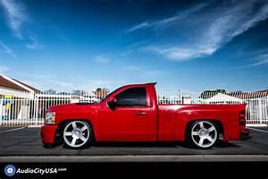 20 U0026quot  Chevy 1500 Ss Truck Wheels Fr 33 Silver Oem Replica Rims  Oem014