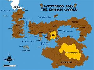 Westeros and Essos by Grimklok on DeviantArt