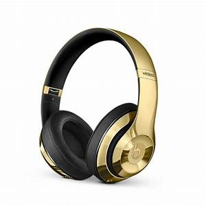 plating gold beats Studio 2.0 Wireless headphones with ...
