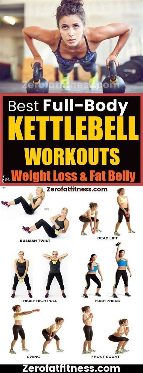 kettlebell body workouts loss weight belly flat training workout exercises