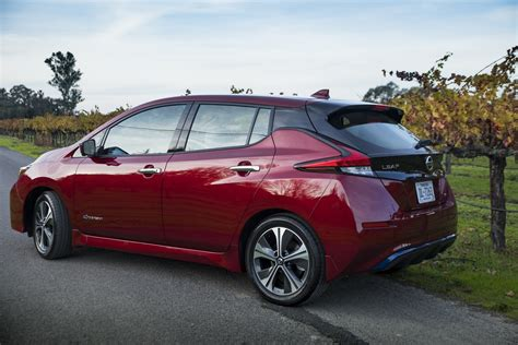 nissan leaf pricing announced  start