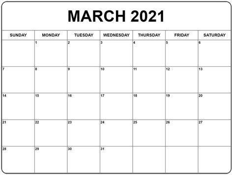 march  calendar calendar printables monthly