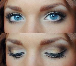 20 Gorgeous Makeup Ideas for Blue Eyes - Style Motivation