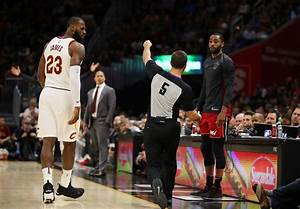 LeBron James Got Ejected For The First Time In His Career ...
