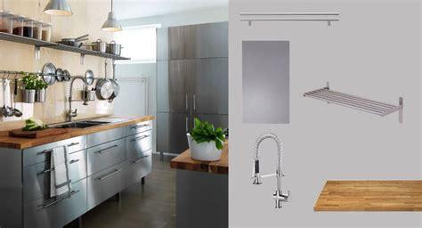 Faktum Küche Mit Rubrik Türen/schubladen Edelstahl Und