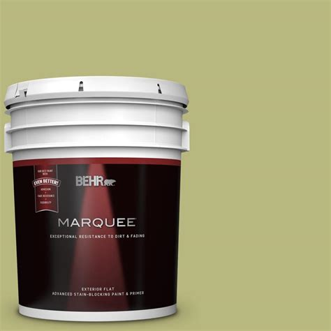 behr marquee 5 gal 400d 5 grass cloth flat exterior paint and primer in one 445405 the home