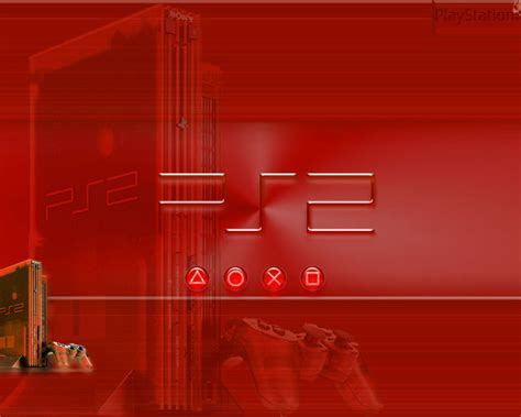 Playstation Images Red Ps2 Hd Wallpaper And Background