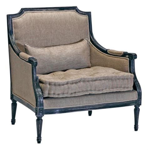 Country Accent Chairs by Stephan Masculine Country Antique Black Accent