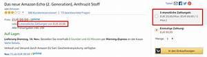 Amazon Per Rechnung Zahlen : 0 finazierung bei amazon hardware in raten bezahlen ~ Themetempest.com Abrechnung