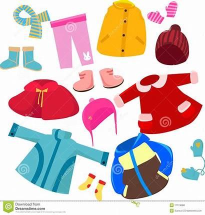 Clothes Clip Clipart Clothing Winter Season Arts