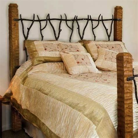 Wrought Iron And Wood King Headboard by Stylish Headboards Iron Wood Copper Or Zinc