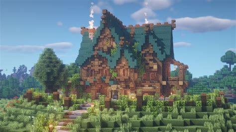 goldrobins mansion   finished minecraftbuilds minecraft cottage minecraft medieval