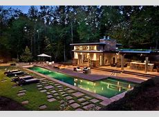 Ideas for small houses, backyard pool house plans pool